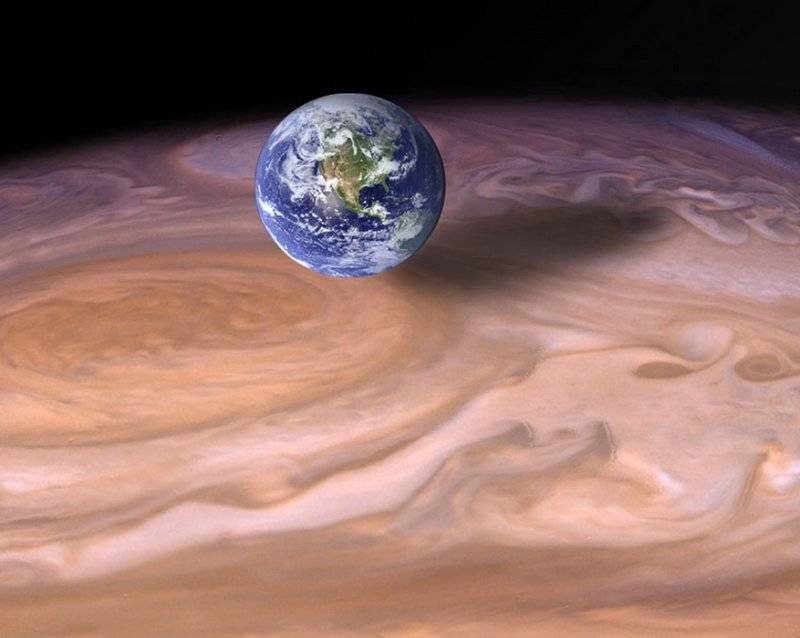Какая планета самая тяжелая в солнечной системе