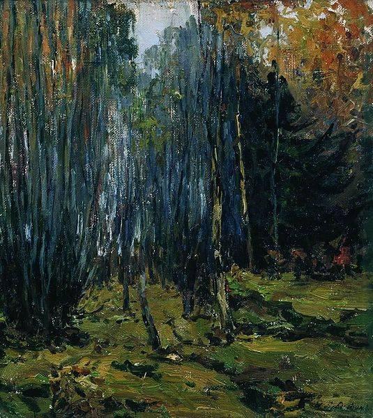 Левитан поздняя осень картина