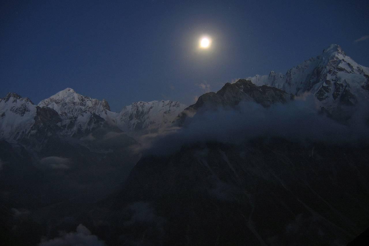 Высота горы дыхтау