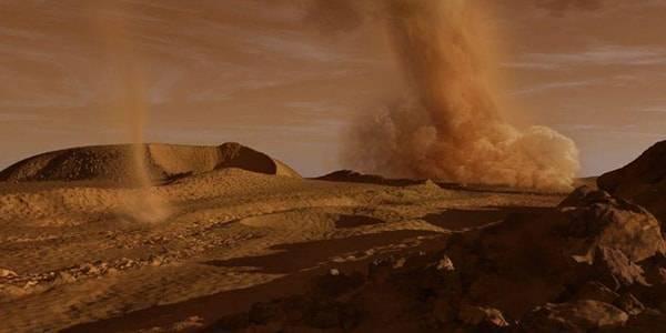 Средняя температура на марсе