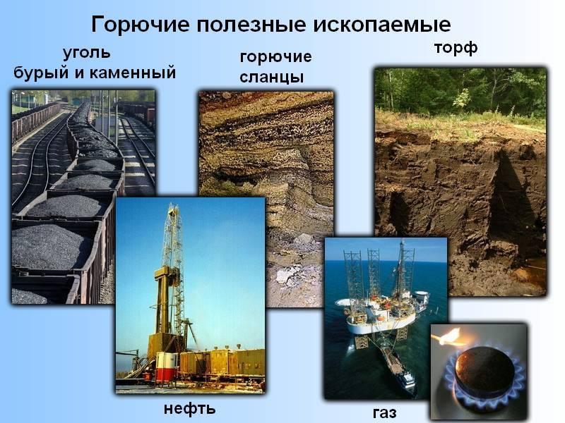 Горючие минеральные ресурсы