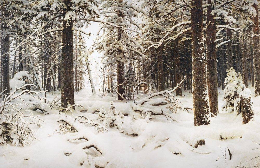 Сочинение на тему шишкин зима