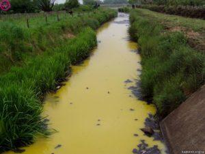 Основные загрязнители воды