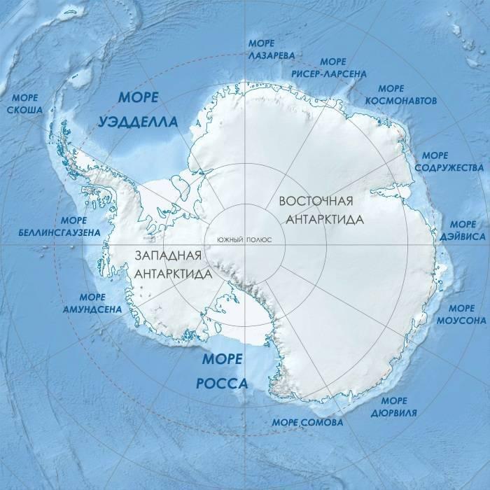 Сколько всего в мире морей