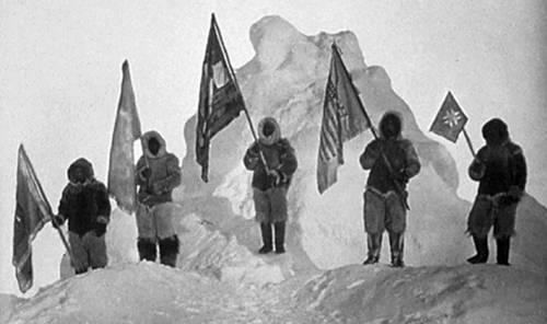 Географические координаты северного полюса
