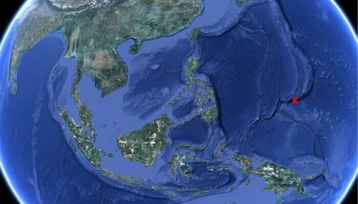 5 глубоководных желобов на карте мирового океана