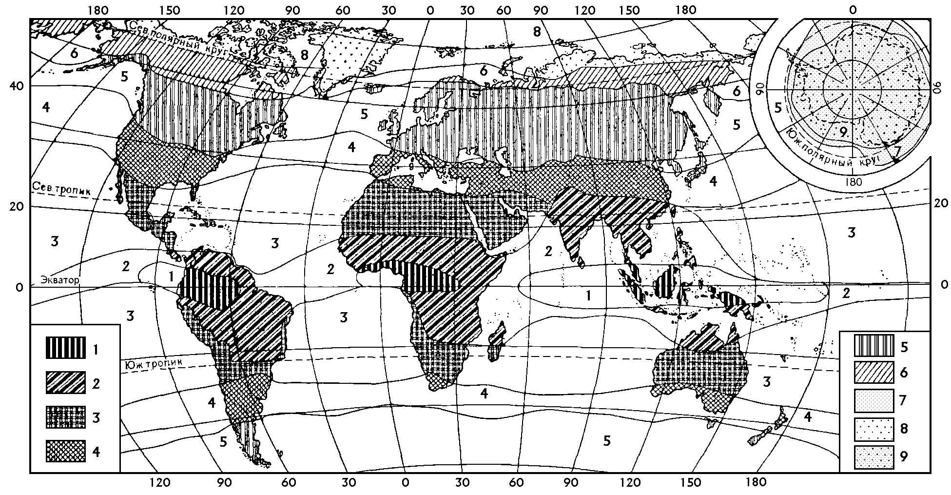 География климат