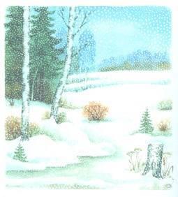 Сочинение на тему зима в лесу