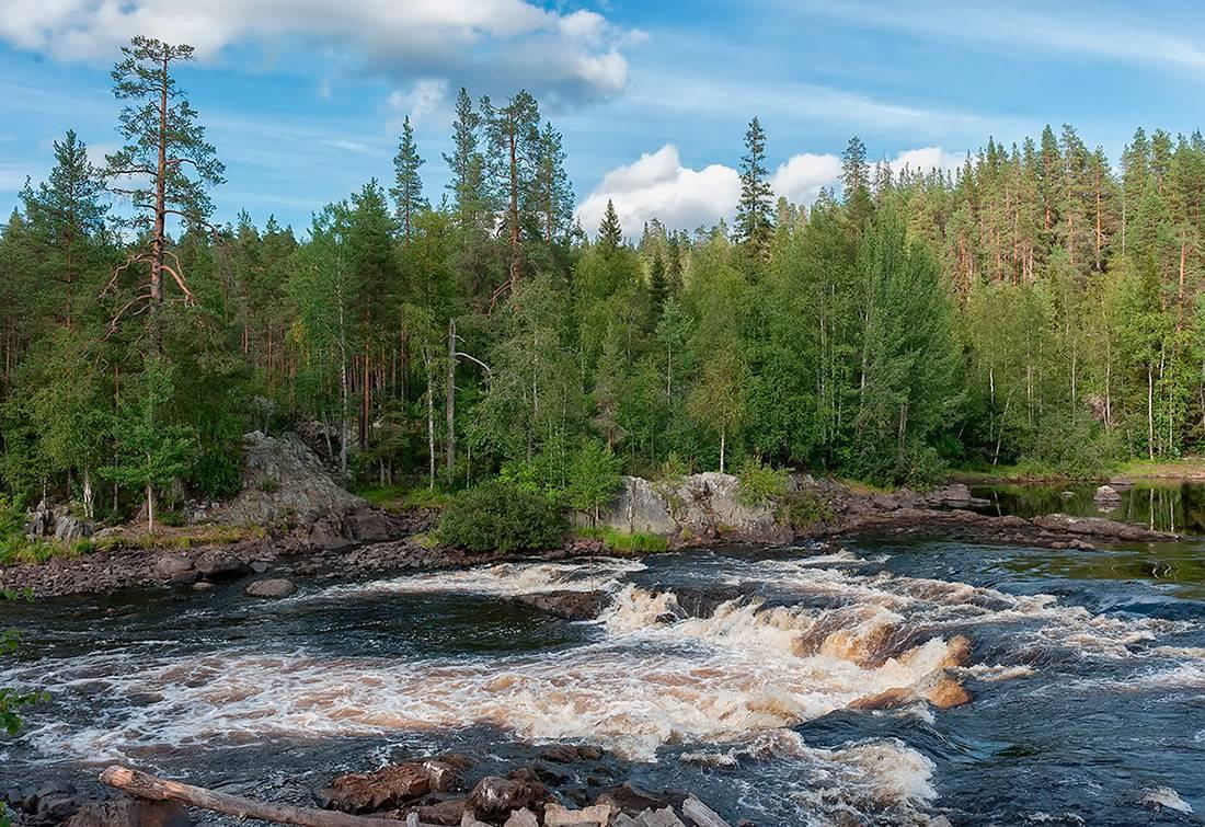 Известные реки россии