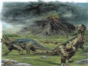 В каком веке были динозавры