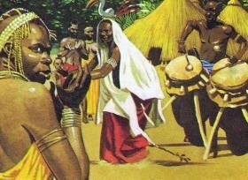 В каком полушарии находится африка
