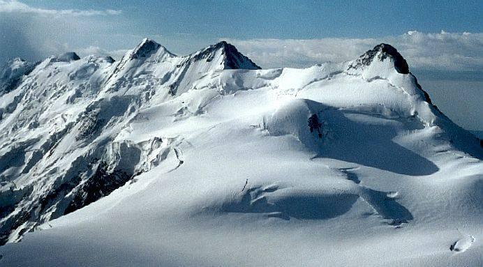 Кавказ высочайшие горы россии таблица