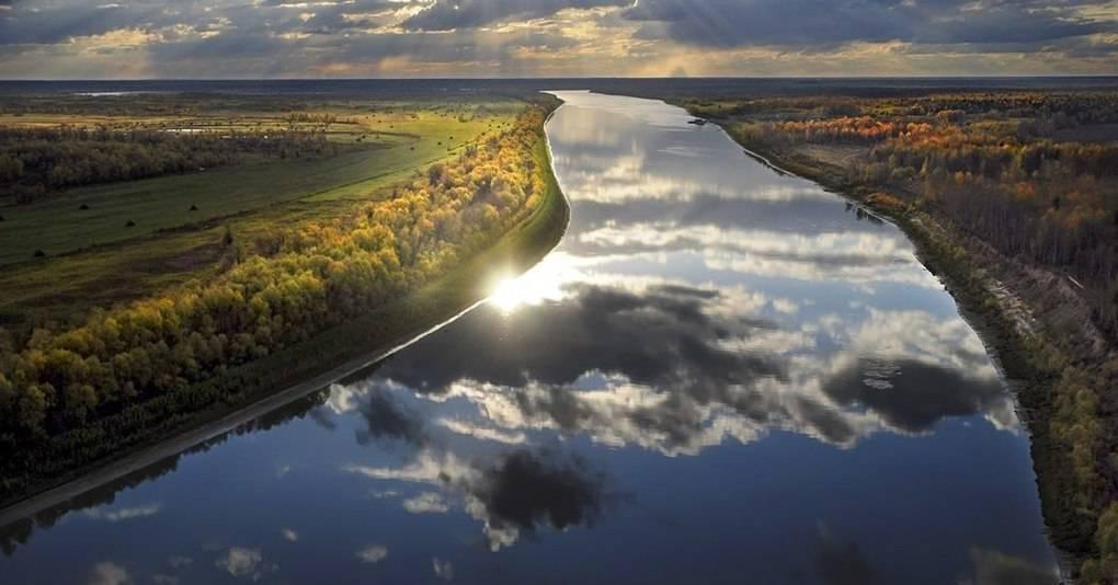 Самая большая река в россии по ширине