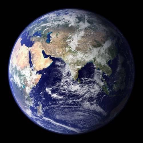 Карта поверхности земли