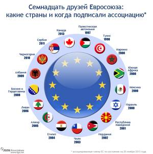 Страны входящие в ес карта