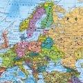 Политическая карта восточной европы