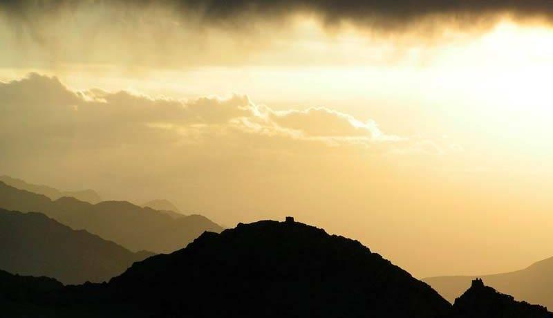 Утро в горах сочинение