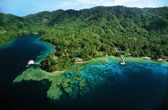 В каком океане больше всего островов