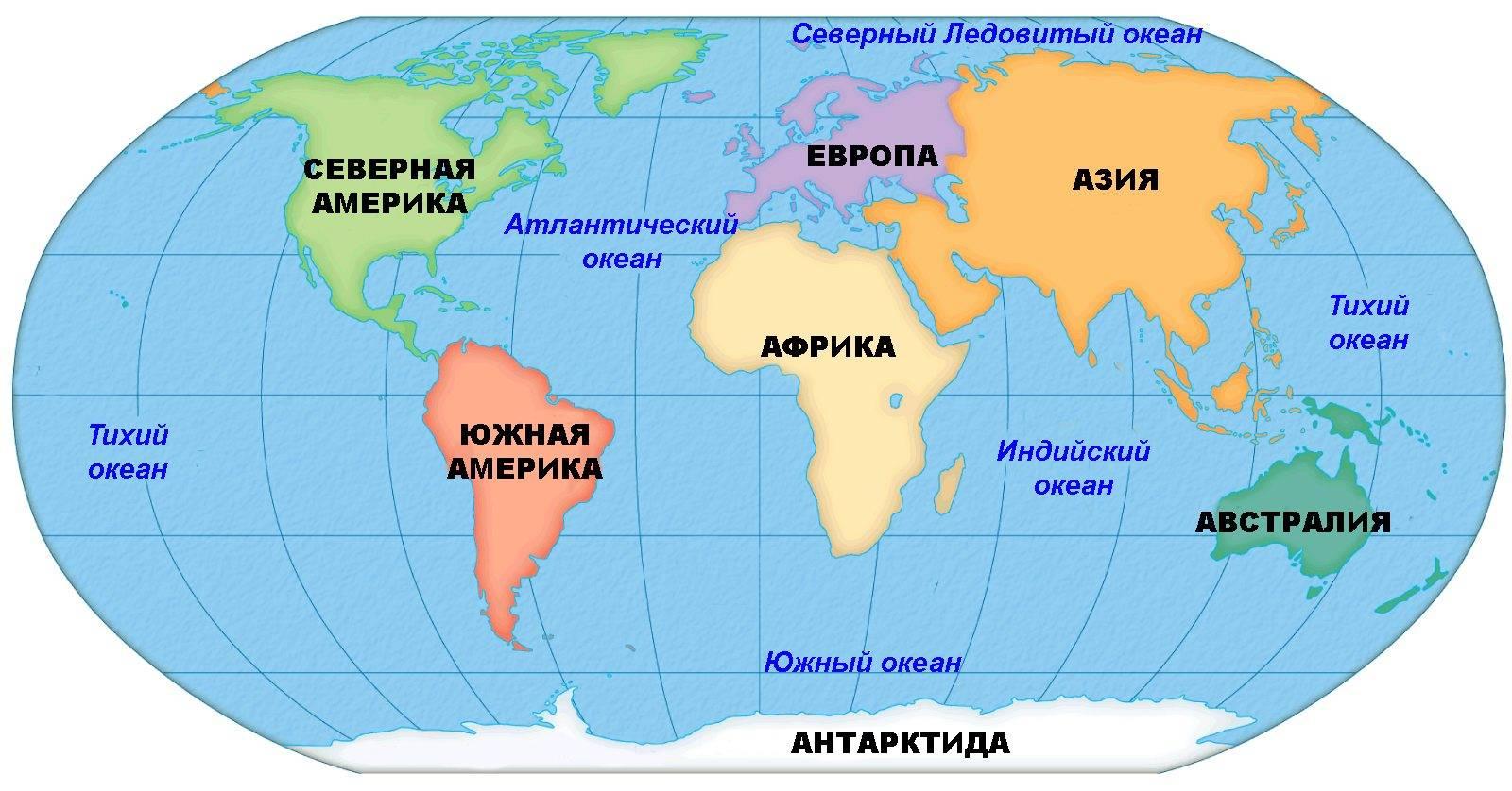Страна и континент одновременно