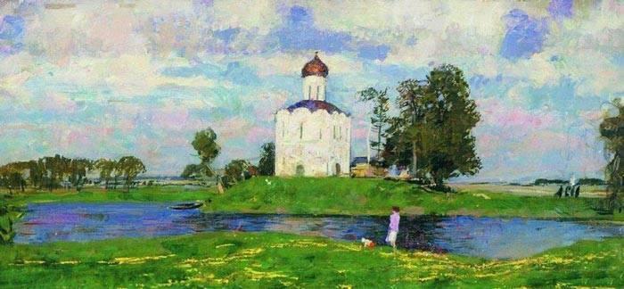 Сочинение описание церкви
