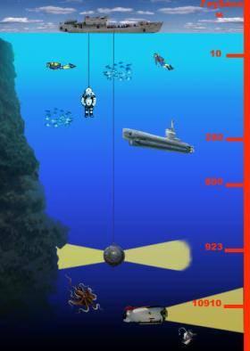 Подводный мир тихого океана