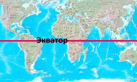 Какую длину имеет экватор
