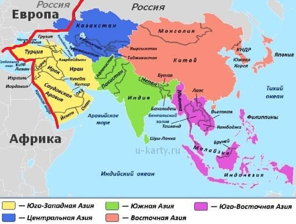 Страны юго восточной азии и их столицы