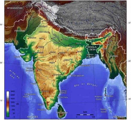 Климатические пояса азии