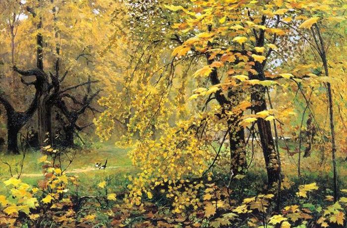Художник остроухов золотая осень