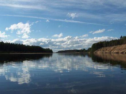 Какие реки протекают на территории россии