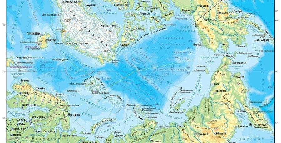Где находится мировой океан