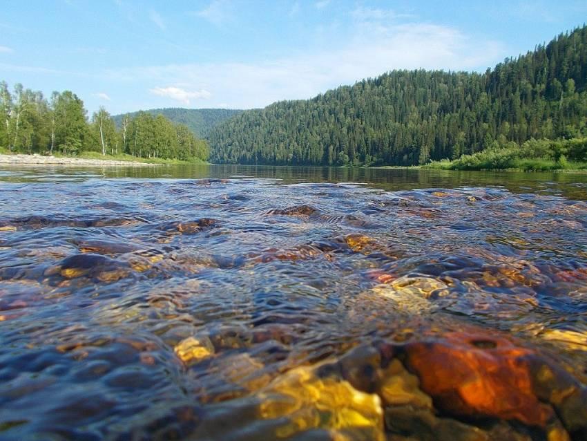 Истоки и устья рек россии