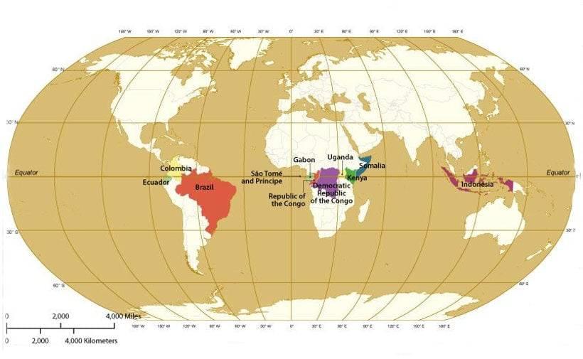 Длинна экватора