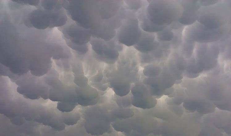 Перисто кучевые облака фото
