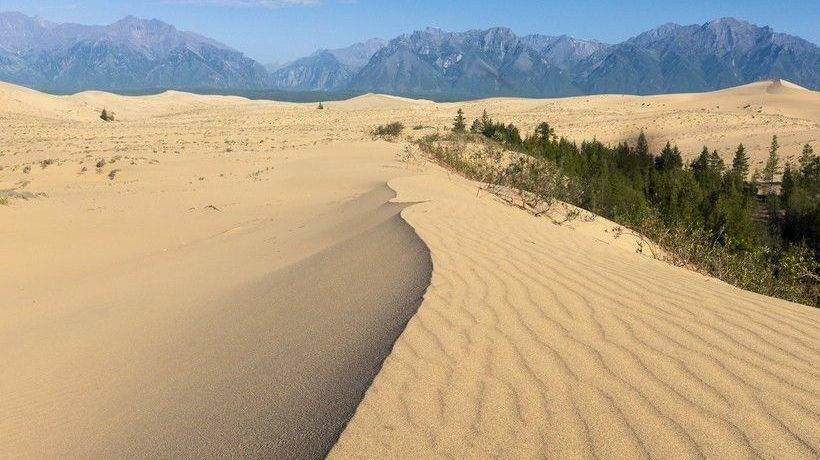 Где находится пустыня в россии
